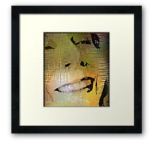 The Teeth Have It Framed Print
