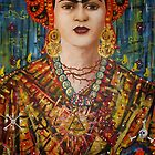 Homage to Frida Kahlo by amoxes