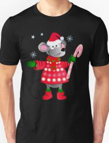 Christmas mouse with candy T-Shirt