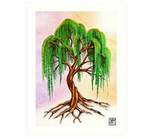 Weeping Tree of Life Art Print
