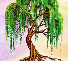 Weeping Tree of Life by Sandra Gale