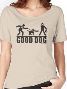 Good Dog K9 Pictogram Women's Relaxed Fit T-Shirt