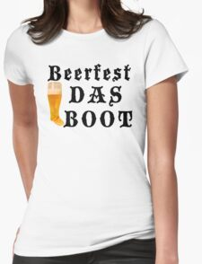 """Beerfest """"DAS BOOT"""" Womens Fitted T-Shirt"""