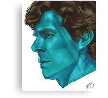 William Sherlock Scott Holmes Canvas Print