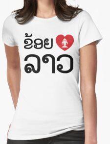 I Heart (Love) Erawan Lao (Khoi Huk Lao) Laotian Language T-Shirt