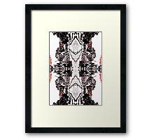 Dark Wedding  Framed Print