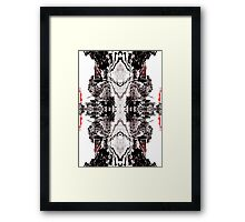 Dark Wedding  Framed Print