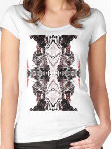 Dark Wedding  Women's Fitted Scoop T-Shirt
