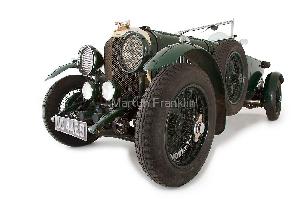 Bentley classic old English automobile by Martyn Franklin