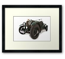 Bentley classic old English automobile Framed Print