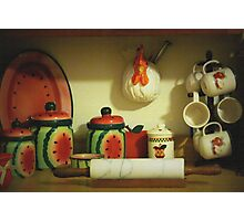 Country Kitchen Photographic Print