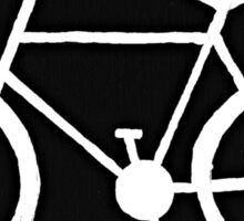Bicycle Silhouette Sticker