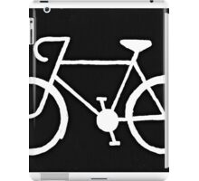 Bicycle Silhouette iPad Case/Skin