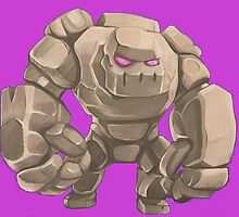 "Golem of ""Clash of Clans"" 