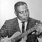 Portrait of Howlin´Wolf by mrcoolart