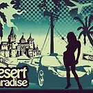 Desert paradise blue by valizi