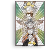 Totems V.1: Men of Country Music Canvas Print
