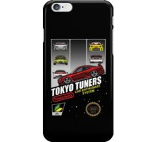 Tokyo tuners - black background iPhone Case/Skin