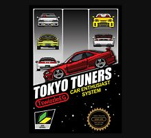 Tokyo tuners - black background Unisex T-Shirt