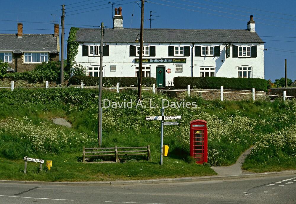 Village pub, Croft, Leicestershire, England, UK 1990s by David A. L. Davies