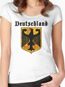 Deutschland Women's Fitted Scoop T-Shirt