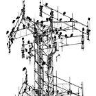Vulture Tower by Gretchen Dunham
