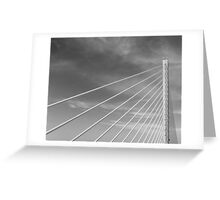 Bridge, Suspense Greeting Card