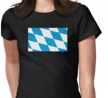 Bavaria Flag Womens Fitted T-Shirt