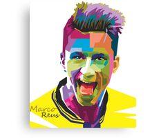 Marco Reus WPAP Canvas Print