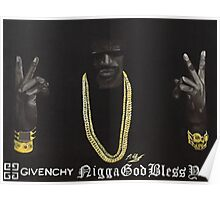 2 Chainz Lyric Quote from All Me by Drake Poster