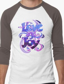 Love and Joy Men's Baseball ¾ T-Shirt