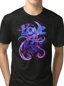 Love and Joy Tri-blend T-Shirt