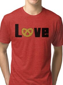 Love Pretzels Tri-blend T-Shirt