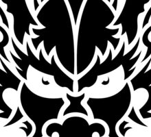 Oriental dragon head tattoo Sticker
