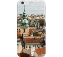 Prague Roof Tops City Scape iPhone Case/Skin