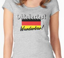 Oktoberfest Wunderbar Women's Fitted Scoop T-Shirt