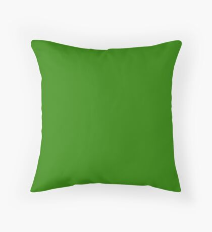 Napier Green Throw Pillow