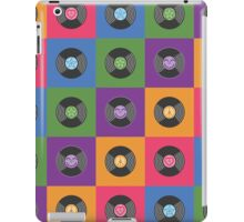 Multicolor Vinyl Records iPad Case/Skin