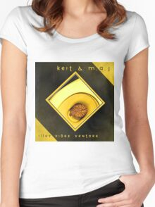 ILLEZ VIBES VENTURE Women's Fitted Scoop T-Shirt