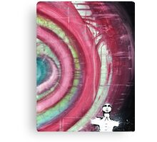 Enlightenment - Mixed Media Abstract Painting Canvas Print