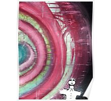 Enlightenment - Mixed Media Abstract Painting Poster