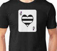 Ace Spectrum Playing Cards: Hetero-romantic Unisex T-Shirt