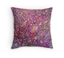 Wildflower Miniatures Throw Pillow