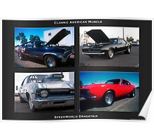 American Muscle Poster Poster