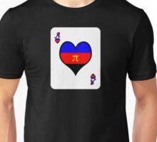 Ace Spectrum Playing Cards: Polyamory Unisex T-Shirt