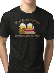 Funny German Engineering Tri-blend T-Shirt