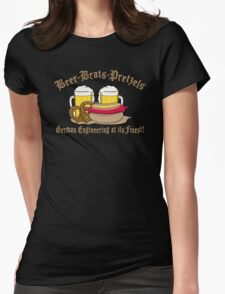 Funny German Engineering Womens Fitted T-Shirt