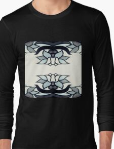 Retro Lotus  Long Sleeve T-Shirt