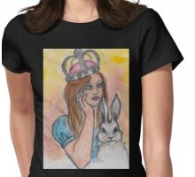 Queen Alice For A Day Womens Fitted T-Shirt