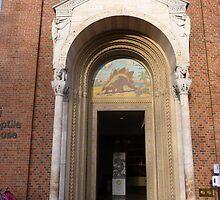 Entrance to the Reptile House, National Zoo, Washington, DC by nealbarnett